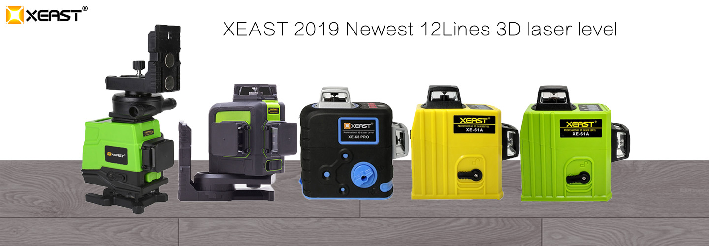 XEAST 3D 12 Lines Laser Level