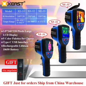 2020 XEAST New Released Infrared Imaging Camera 320*240 High Resolution XE-33 PK HT-19