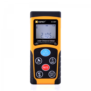 XEAST Laser Distance Meter 100m Handheld Laser Distance Meter High Precision Range Finder Area Volume tape Measure Data Backlight