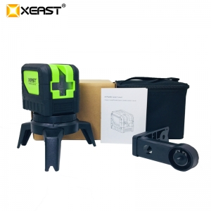 XEAST NEW XE-M03 Laser Level 2Line 1 Dots 1V1H 360 degree Self-leveling Cross horizontal vertical Red Green laser level