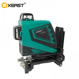 XEAST Professional level 12Lines 3D Laser Level Self-Leveling 360 laser level Green Laser Beam Line 532nm,30mw