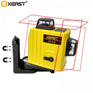 XEAST XE-61A 12 Lines 3D Laser Level Self-Leveling 360 Horizontal And Vertical Cross Super Powerful Red Laser China factory
