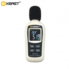 China 2019 XEAST Handheld Digital Hot Sale with lcd display Mini Sound Level Meter XE-911A factory