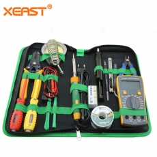 China Repair Tool Kits XE-113 Mobile Phone Repairing Tools phone repair kit with soldering iron multimeter for Phone Laptop PC factory