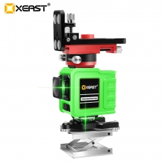 China XEAST 3D XE-92G 12Lines Green Laser Levels Self-Leveling 360 Horizontal And Vertical Cross Super Powerful Green Laser Beam Line factory