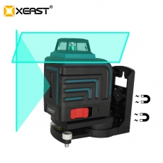 China XEAST LD 5 Lines 3D Green laser level Self-Leveling 360 Horizontal And Vertical Cross green Laser Beam With Tilt&Outdoor Mode XE-305G factory
