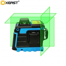 China XEAST Laser Level 12 Lines 3D Level Self-Leveling 360 Horizontal And Vertical Cross Super Powerful Green Laser Level factory