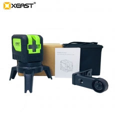 China XEAST NEW XE-M03 Laser Level 2Line 1 Dots 1V1H 360 degree Self-leveling Cross horizontal vertical Red Green laser level factory