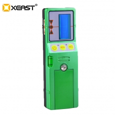 China XEAST Outdoor mode laser level available red and green beam cross line laser receiver detector with Clamp factory