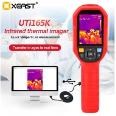 China XEAST UTi165K Hand-held Human Body FEVER Screening Thermal Camera in real PC Software Analysis factory