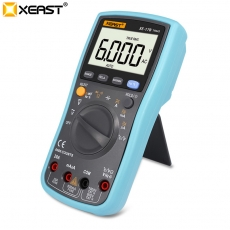 China XEAST XE-17B 6000 counts backlight TRMS digital Multimeter factory