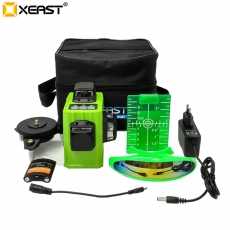 China XEAST XE-61A 12 line laser level 360 Self-leveling Cross Line 3D Laser Level Green mode1 factory