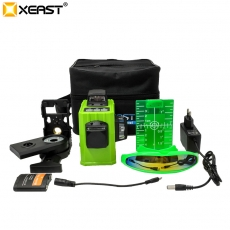 China XEAST XE-61A 12 line laser level 360 Self-leveling Cross Line 3D Laser Level Green mode2 factory