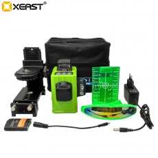 China XEAST XE-61A 12 line laser level 360 Self-leveling Cross Line 3D Laser Level Green mode3 factory
