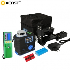 China XEAST XE-68 PRO 3D Laser Levels 12 Lines Cross Level Self Leveling Outdoor 360 Rotary green Laser with Laser receiver factory