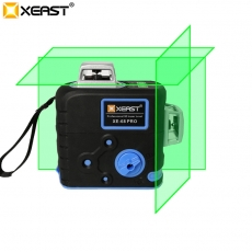 China XEAST XE-68 PRO 3D Laser Levels 12 Lines Cross Level Self Leveling Outdoor 360 Rotary green Laser with Magnetic ladder bracket factory