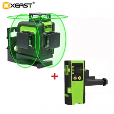 China XEAST XE-903 12 line laser level 360 Self-leveling Cross Line 3D Laser Level green Beam With Tilt&Outdoor Mode can use Receiver factory
