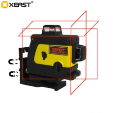 China Xeast XE-70R 3D 360 12 Linie Red Laser Level Selbstnivellierende Slash Glare Outdoor Level Neu-Fabrik